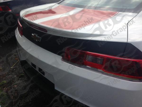 2014 - 2015 Chevrolet Camaro Trunk Blackout Decal