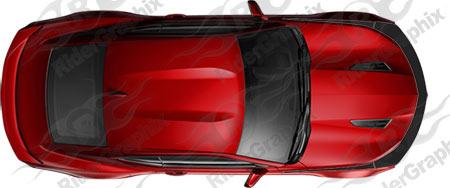 2016 - 2018 Camaro Front Fascia Accent Stripe Kit