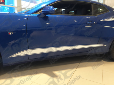 2016 - 2019 Camaro Lower Accent Stripe Kit