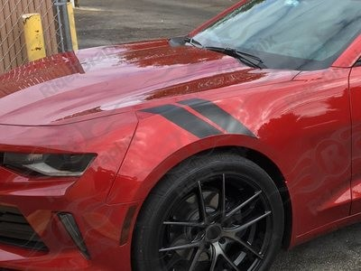 2016 & Up Chevrolet Camaro Fender Hash Side Stripes