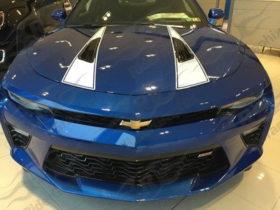 2016 - 2018 Camaro Hood Spear Graphics