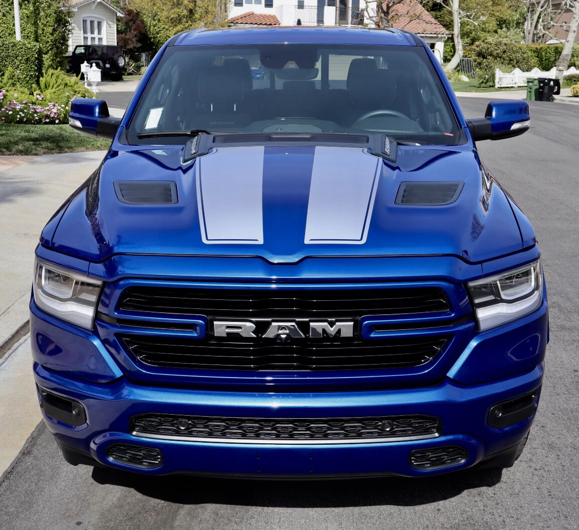 2019 - Up Ram 1500 Rebel / Sport Hood Decal Graphics