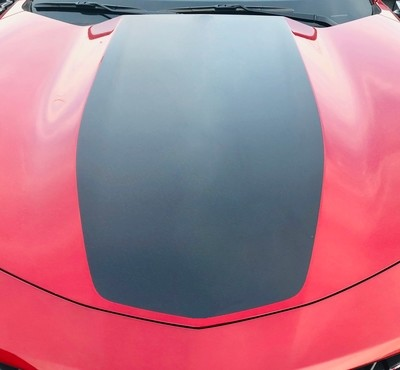 2019 - up Camaro Coupe Single Wide Center Hood Only Stripe