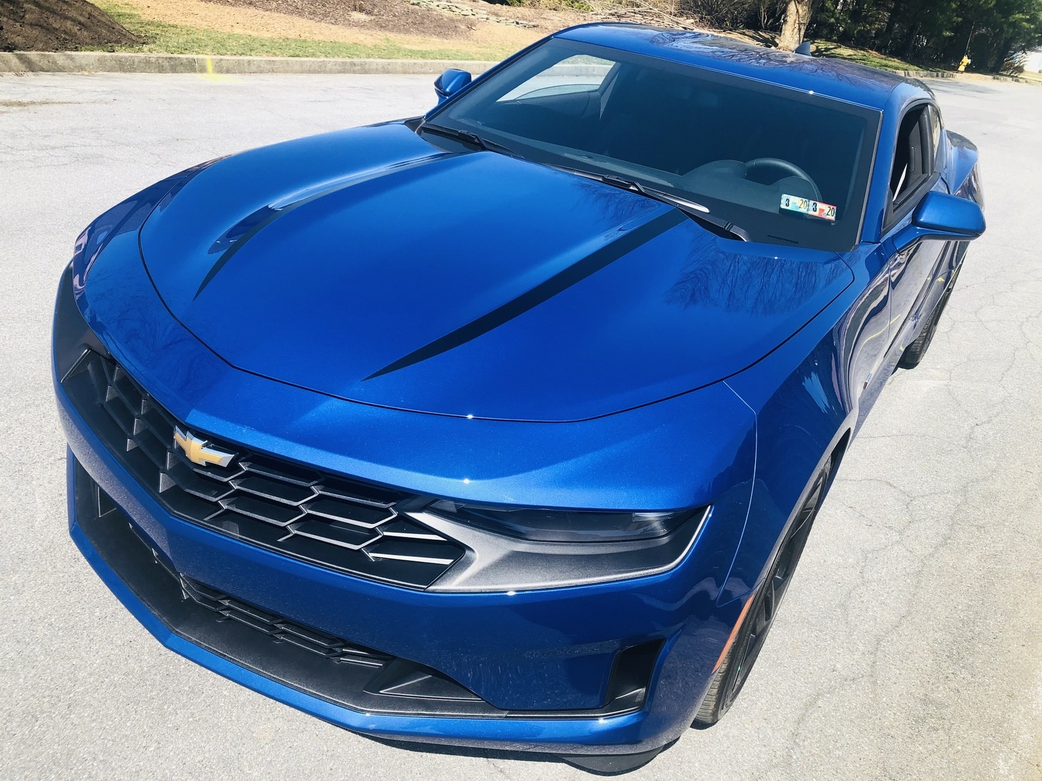 2019 - UP Camaro SS RS LT Hood Spear Graphics
