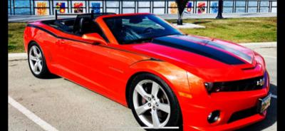 2010 - 2015 Camaro Devil Tail Side Stripes