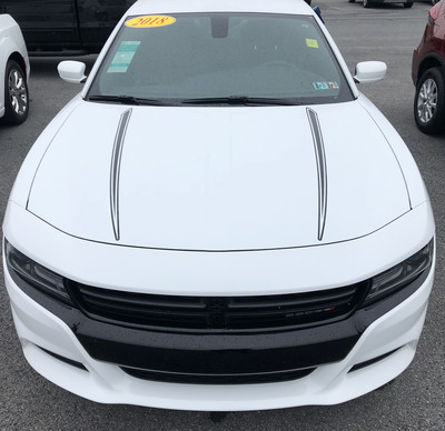 2015 - 2019 Dodge Charger Hood Spear Graphics