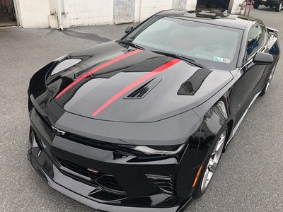 2016 - 2018 Camaro SS Coupe Spyder Style Stripe Kit