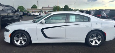 2011 -2014 Dodge Charger Side Scallop Graphics