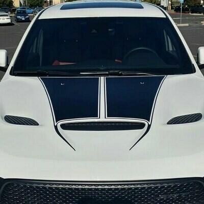 2018 - Up Dodge Durango SRT Sport Hood Stripes GT RT