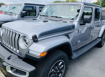 Jeep Gladiator JT Wrangler JL JLU Rubicon Hood Spear Graphics