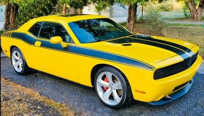 2008 - Up Dodge Challenger Full Body Length Upper Side Stripes