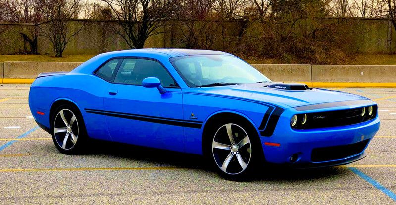 2008 - Up Challenger Front C Stripe Kit