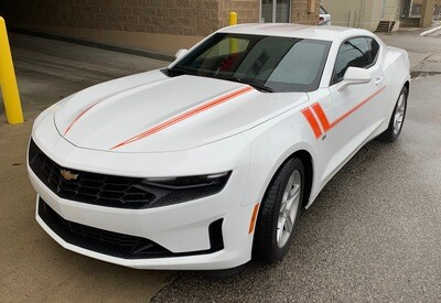 2019 - UP Camaro SS RS LT1 LT Hood Spear Graphics