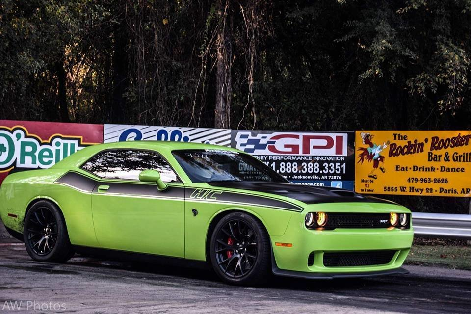 2008 - Up Dodge Challenger T/A Style Side Stripe Graphics Kit