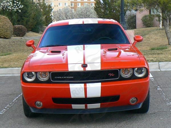 2008 - 2014 Challenger SRT 392 Style Rally Stripes