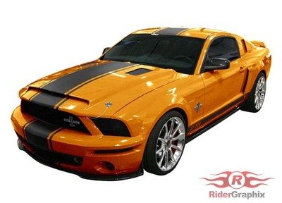 2005 - 2009 Ford Mustang Super Snake Style Stripe Kit