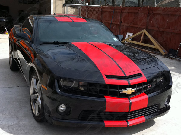 2010 - 2013 Camaro Pace Car Style Rally Stripe Kit