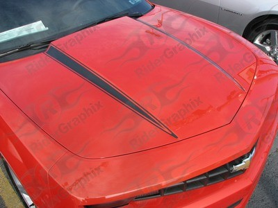 2010 - 2015 Camaro Hood Spear Graphics