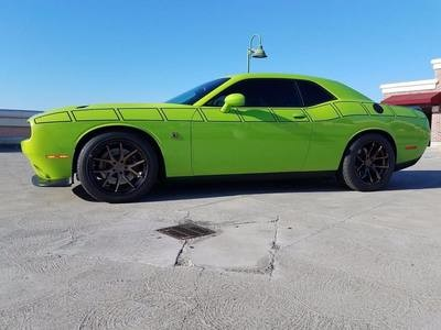 2008 - Up Dodge Challenger Full Body Length Upper Strobe Side Stripes