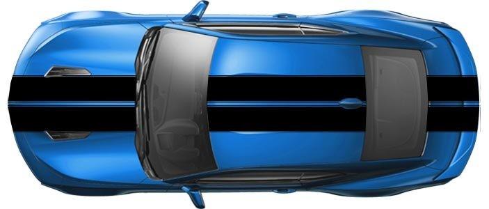 2016 - 2018 Camaro Pace Car Style Bumper to Bumper Rally Stripe Kit