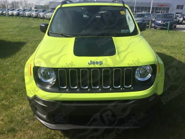 2014 - 2019 Jeep Renegade Hood Blackout Graphics