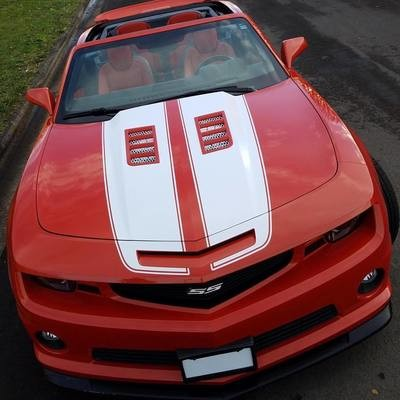 2010 - 2015 Camaro Extended Front Dual Rally Stripes