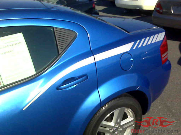 2008 - 2014 Dodge Avenger Stinger Q.P. Stripe Kits