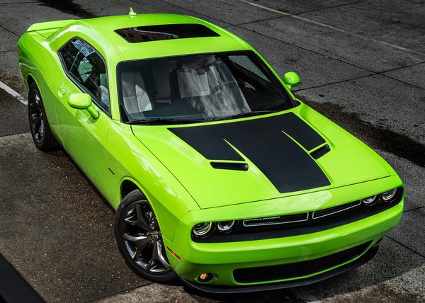 2015 - Up Dodge Challenger SXT / RT / GT AWD One Piece Hood Decal Kit