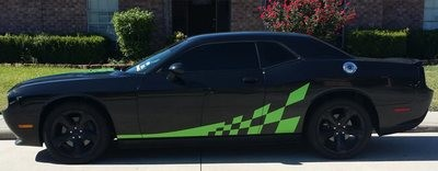 2008 - Up Challenger Checkered Flag Graphics