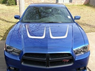 2011 -2014 Dodge Charger Hood Scallop Graphics
