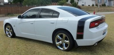 2011 - 2014 Dodge Charger Extended Super Bee Tail Stripes