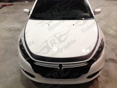 2013 - 2016 Dodge Dart Nose Accent Stripe Kit