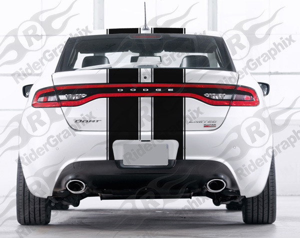 2013 - 2016 Dodge Dart Dart Dual Rally Stripe Kit