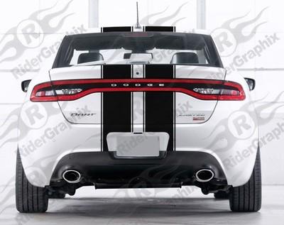 2013 - 2016 Dodge Dart Dart Dual Rally Stripe Kit