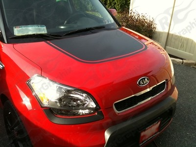 2009-2013 Kia Soul Hood Decal Kit
