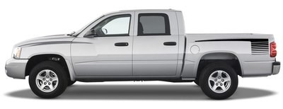 1997 - 2011 Dodge Dakota Retro Hockey Stripes