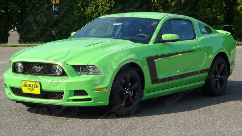 2012 Mustang Factory Style BOSS 302 Style Side Stripes