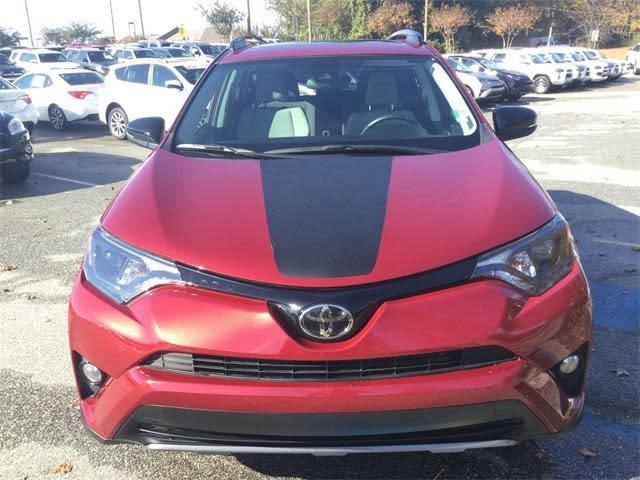 2013 - 2018 Up Toyota Rav4 Adventure Series Center Hood Accent Decal