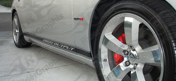 2006 - 2010 Charger Rocker Panel Stripe Kits