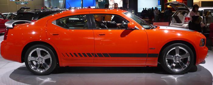 2006 - 2010 Charger Daytona Style Strobe Rocker Panel Stripe