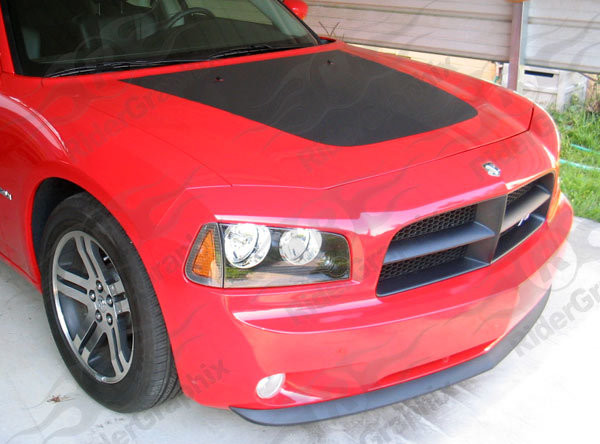 2006 - 2010 Charger One-Piece Hood Kits