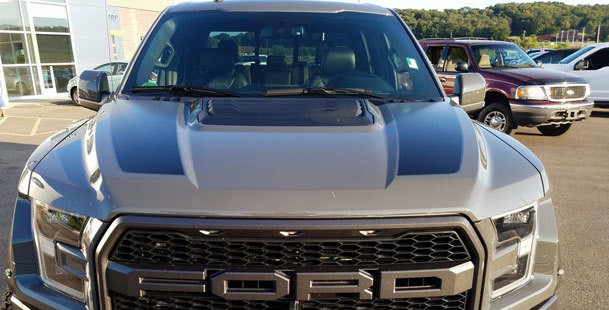 2015 & Up Ford F150/ Raptor Hood Spear Stripes