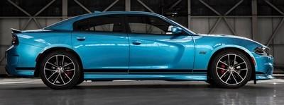 2015 & Up Dodge Charger SRT Style Rocker Panel Stripes