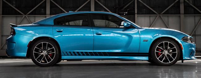 2015 & Up Charger Daytona Style Strobe Rocker Panel Stripe Kits