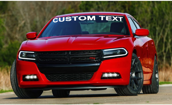 2015 & up Charger Windshield Decal