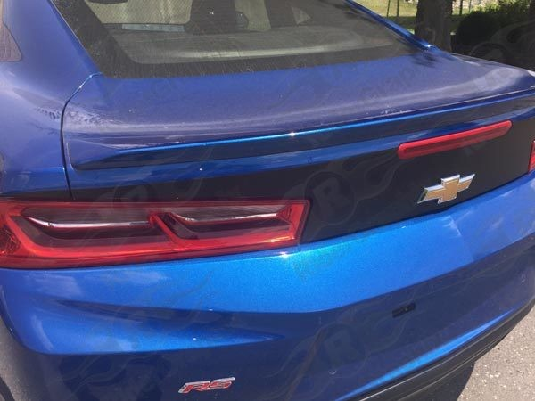 2016 - 2018 Chevrolet Camaro Extended Rear Trunk Blackout Decals kit