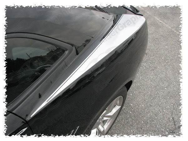 2010 - 2015 Chevrolet Camaro Rear Upper Fender Stripes