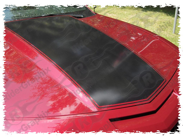 2010 - 2015 Chevrolet Camaro LS/LT/SS Center Hood & Trunk Combo Stripes