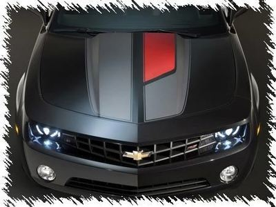 2010 - 2015 Chevrolet Camaro 45th Anniversary Style Rally Stripe Kit