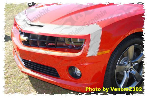 2010 - 2015 Chevrolet Camaro 1967 SS Gen 1 Style Front Nose Stripe
